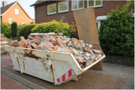 Concrete Waste Skip Bin