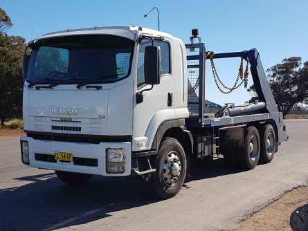 Skip Bin Hire Truck